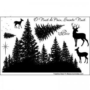 Treeline Deer Fr.
